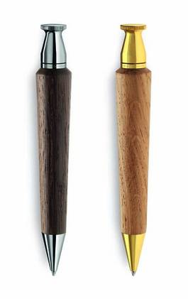 woodpen, wooden pen, exclusive wooden gift, wooden writing instrument, e+m Holzprodukte, wood products, eco promotion gift,